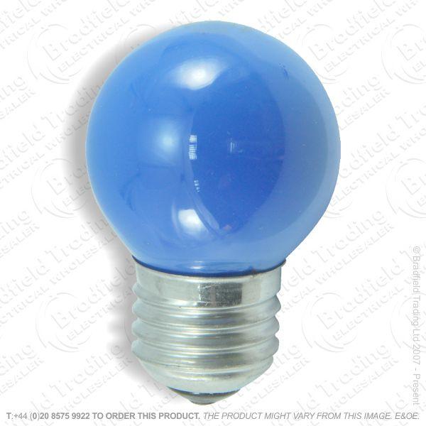 A07) Golf Round 45mm Coloured ES Blue 15W