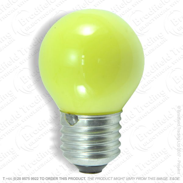 A07) Golf Round Coloured ES Yellow 15W