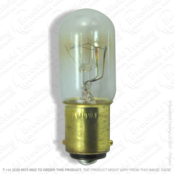 A86) Appliance Bulb 15W SBC Crompton