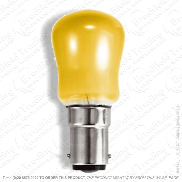 A08) Pygmy Coloured SBC B15 Amber 15W