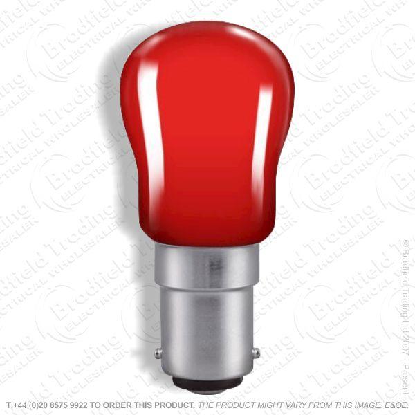 A08) Pygmy Coloured SBC Red 15W B15