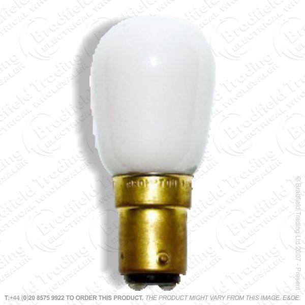 A08) Pygmy Coloured SBC White 15W B15