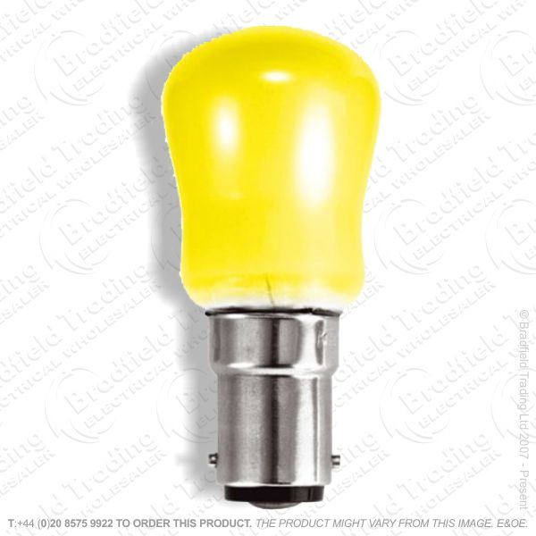A08) Pygmy Coloured SBC Yellow 15W B15