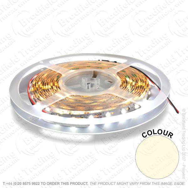 D13) LED Flex 5M Warm White SelfAdh IP67 6W/M