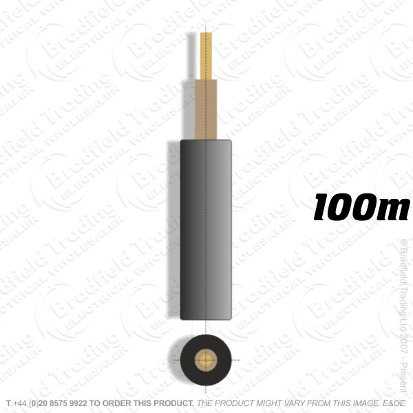 H05) Meter Tails 16mm brown/brown 100M 6181Y