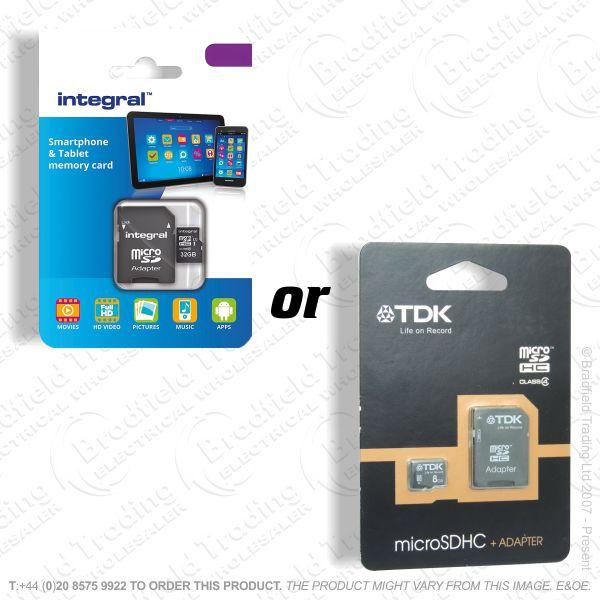 E21) 16GB Micro SDHC Flash Memory Card PHILIP
