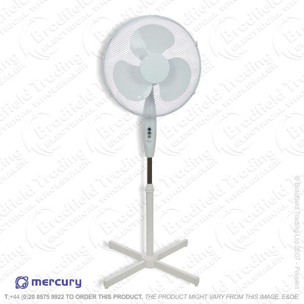 D06) Fan Pedestal 16  White DAEWOO