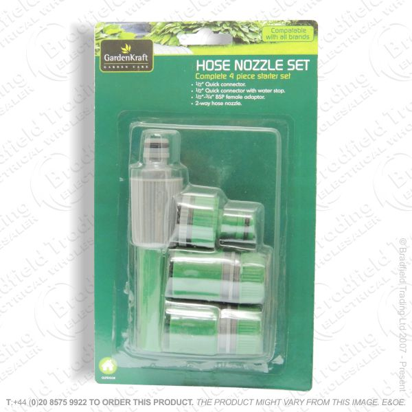 D15) Hose Nozzle Set 4pc