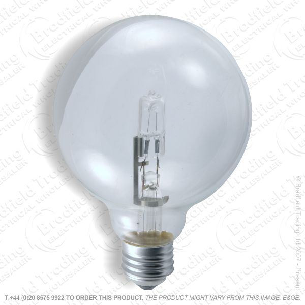 A13) Decor Globe 125mm ES Clear 18W