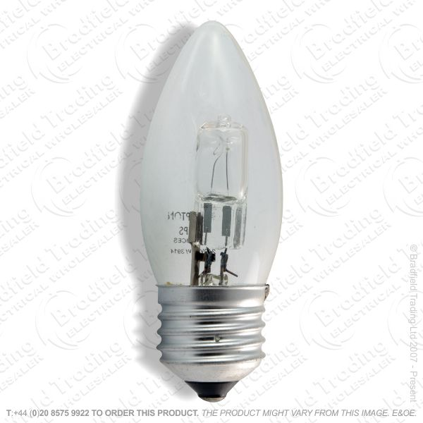 A12) Candle Halogen ES clear 18W Bulb BELL