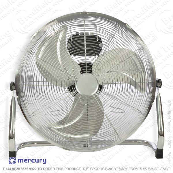 D07) Fans Floor 18 Blower HVelocity Chrome