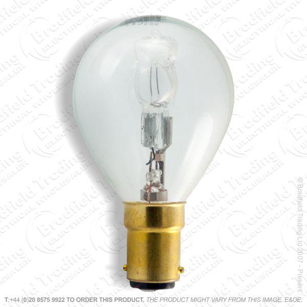 A12) Golf Halogen SBC Clear 18W (25w) Lamp
