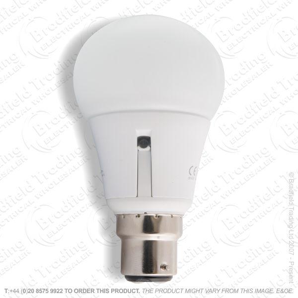 A23) 5.5W BC GLS Sensor LED 450lm INT