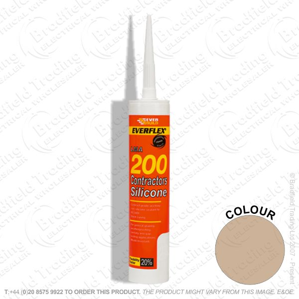 G14) Contractors Silicone Sealant C3 Brown EV