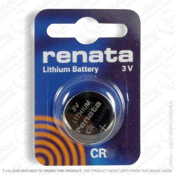 E09) Battery CR2016 3V lithium RENATA