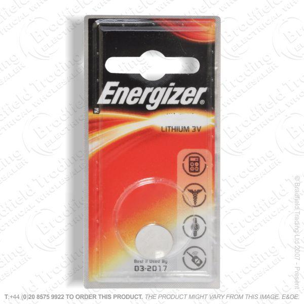 E09) Battery CR2016 pk2 3V lithium ENERGI