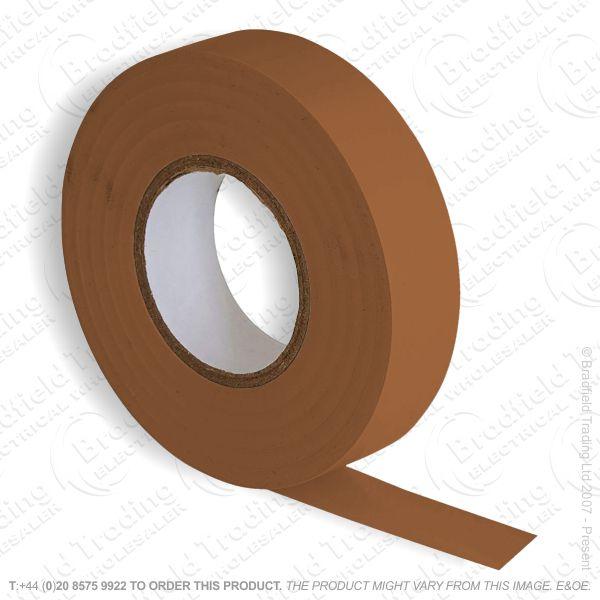 G02) Tape Insulation 20M PVC brown (Single)