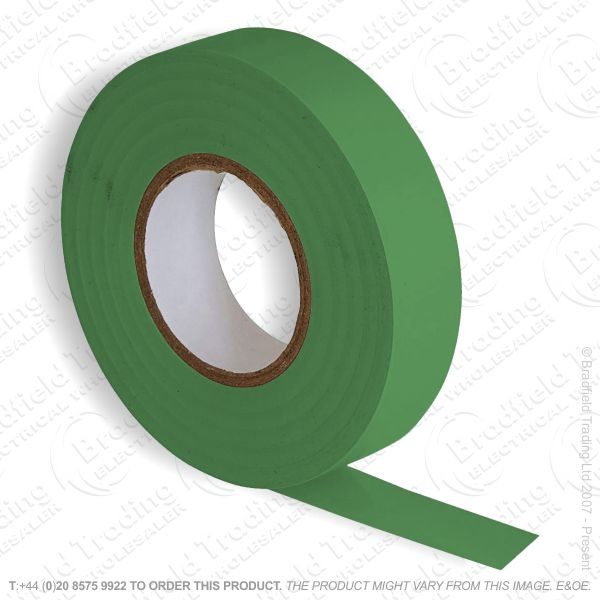 G02) Tape Insulation 20M PVC green (Single)