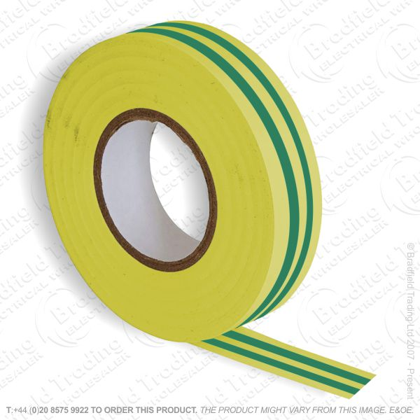 G02) Tape Insulation 20M gren yellow (Single)
