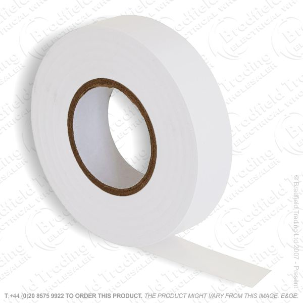 G02) Tape Insulation 20M PVC white (Single)