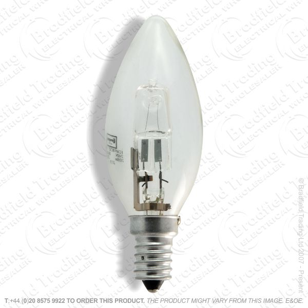 A12) Candle Halogen SES clear 20W Bulb OSRAM
