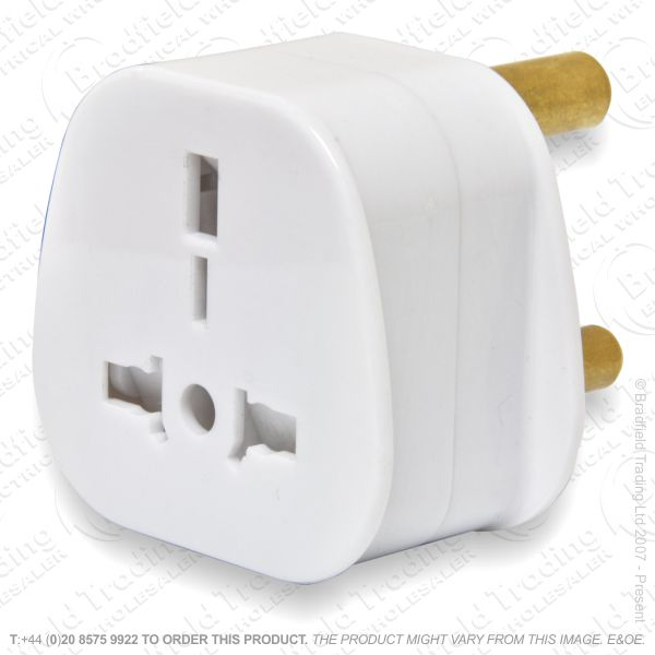 F11) Travel Adaptor UK Sosket SA Plug
