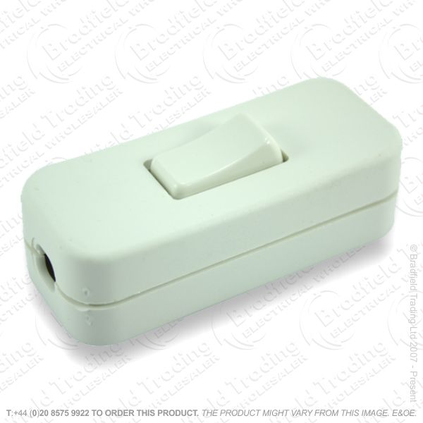 F14) Switch Inline 2A 3c white *Sold in 1pc**