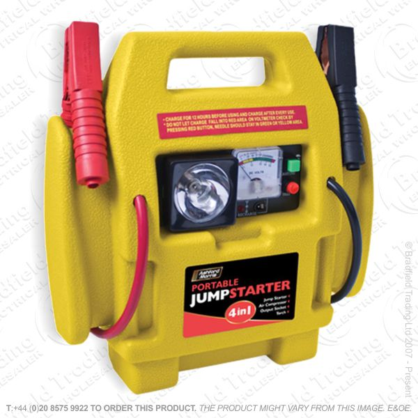 G54) Portable 4in1 Jump Starter Booster