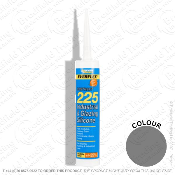 G15) Glazing Silicone Sealant C3 Black EVER