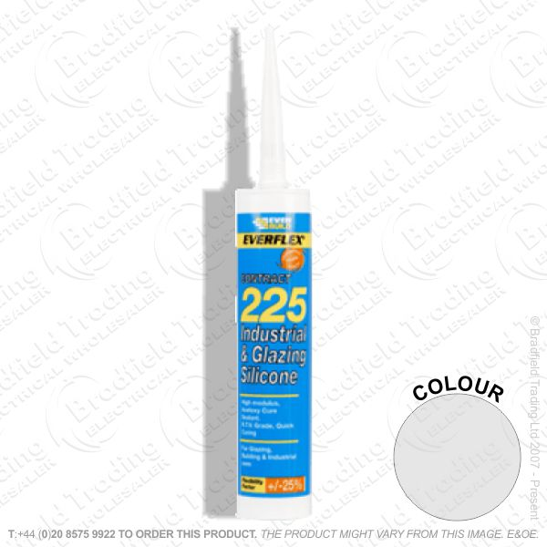G15) Glazing Silicone Sealant C3 Br Steel EVE