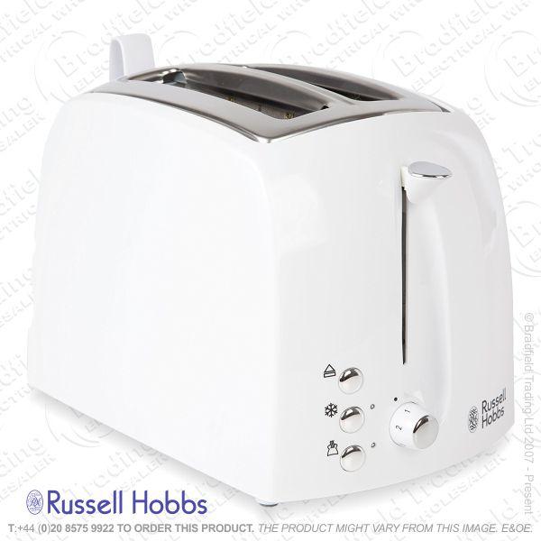 C04) Toaster 2slice White R/HOBBS