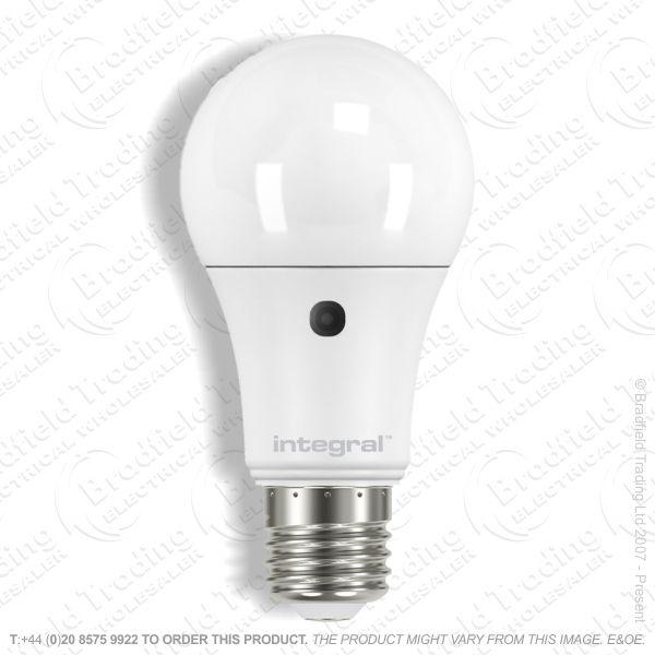 A23) 5.5W ES GLS Sensor LED 450lm INTEGRAL