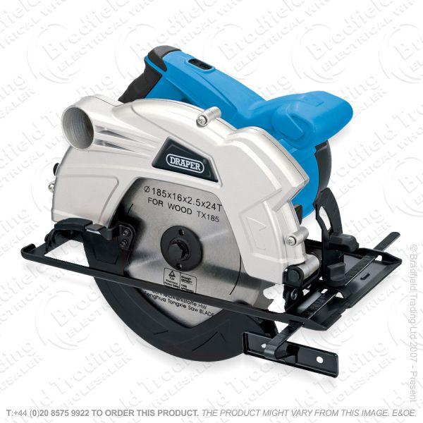 G26) 1300w 230v 185mm Circular Saw Draper