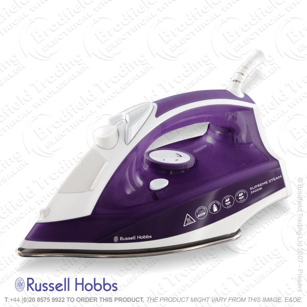 C11) Steam Iron 2400w Rusell HOBBS