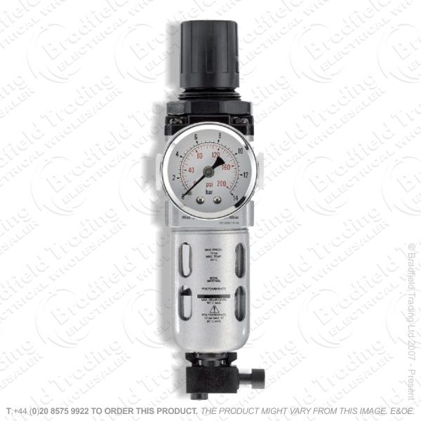 G55) 1/4  Filter Regulator Unit Draper