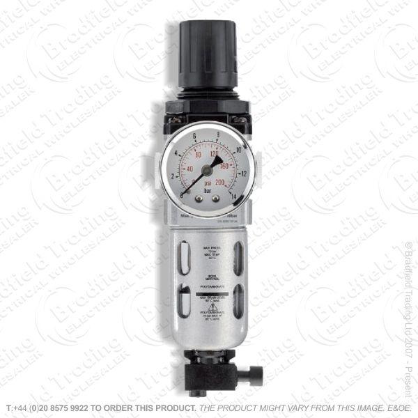 G55) 1/4  Filter Regulator Unit Draper