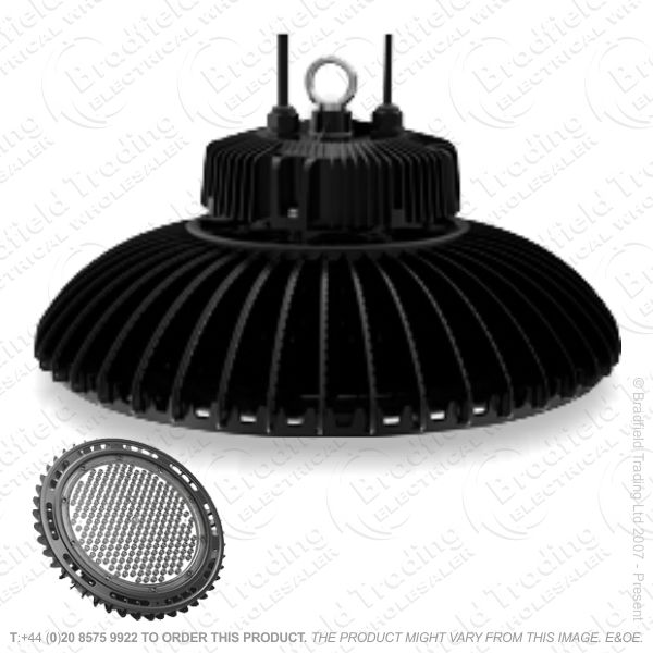 B19) High Bay Circular LED 100W 110* Dim INT