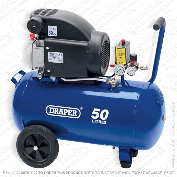 G55) Oil-Free Air Compressor 230V 50L DRAPER