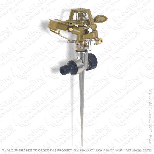 D15) Garden Hose Metal Sprinkler DRAPER