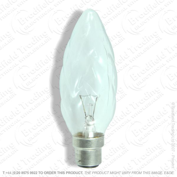 A05) Candle Flambau Clear 25W BELL