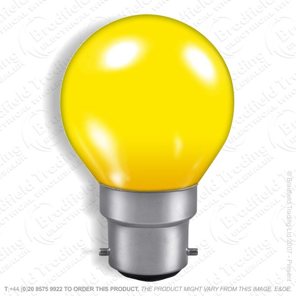A07) Golf Round 45mm col BC yellow 25W