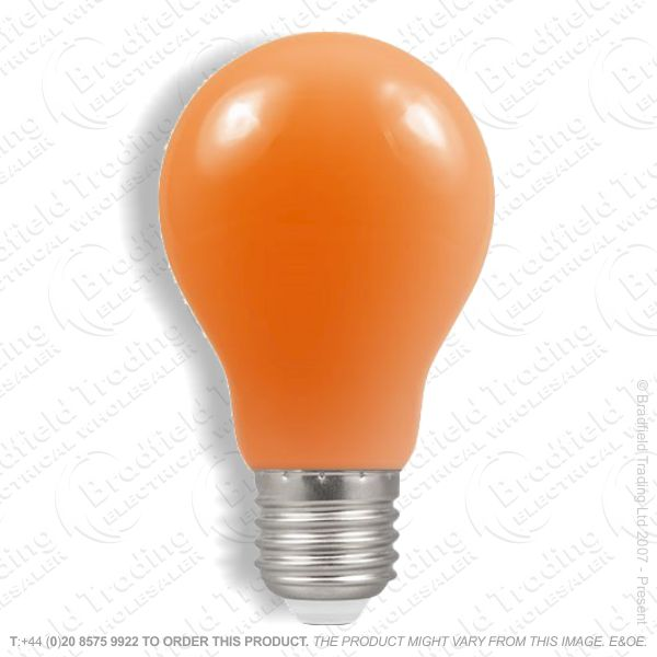 A02) GLS Colored ES Amber 25W CRO
