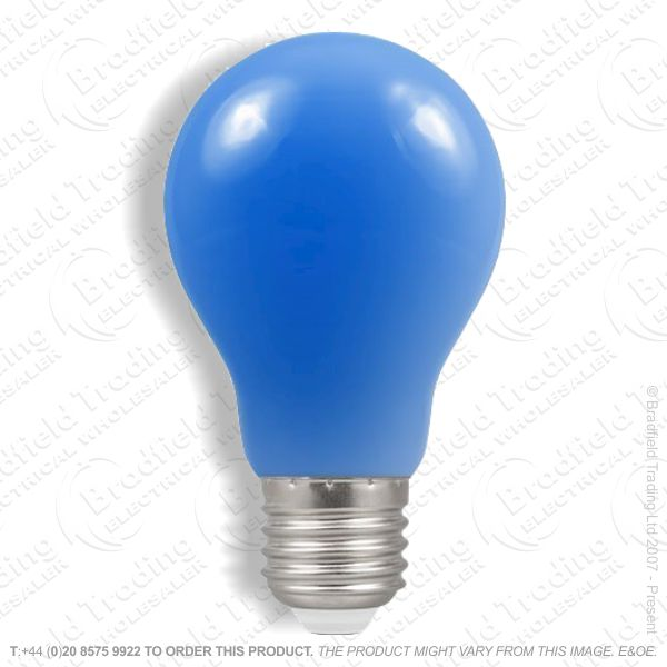 A02) GLS Coloured ES Blue 25W