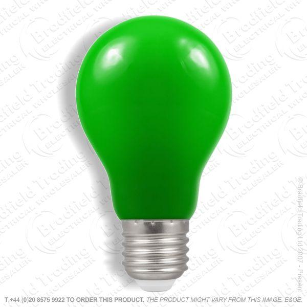 A02) GLS col ES Green 25W CRO