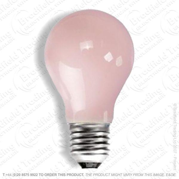 A02) GLS col ES Pink 25W CRO