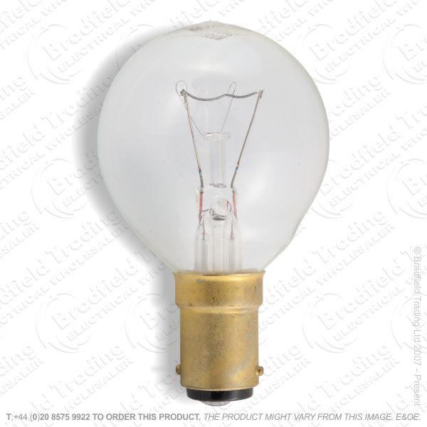 A07) Golf Round 45mm SBC clear 25W