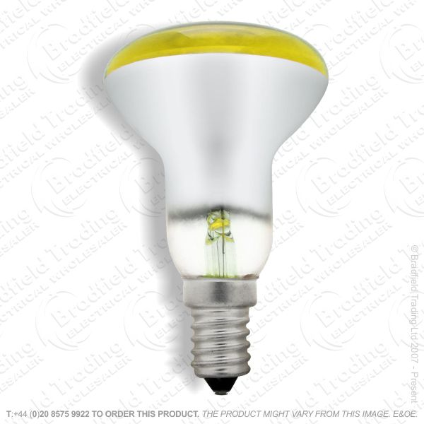 A09) Reflector R50 col SES yellow 25WCRO