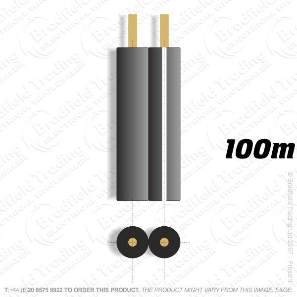 H08) Speaker 26 strand Black 100M
