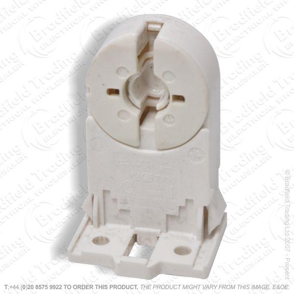 B04) Lamp Holder T8 End Push Clip