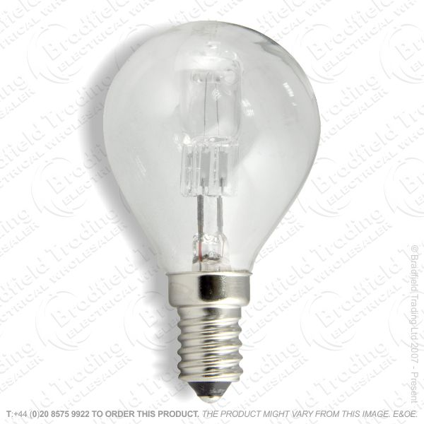 A12) Golf Halogen SES Clear 28W (37w) Lamp